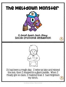 Social skills story: Emotional Regulation