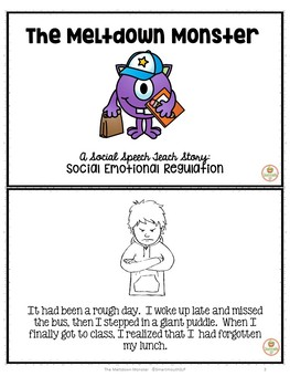 Social skills story: Emotional Regulation