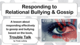 Emotional Relational Bullying Prevention w 5 video Character Ed PBIS