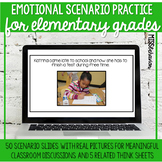 Distance Learning   Emotional Scenarios for Elementary   S