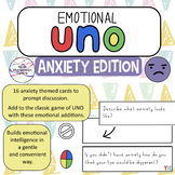 Emotional Uno game - Anxiety