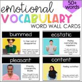 Emotional Vocabulary Cards