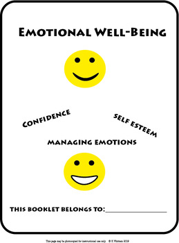 Emotional Well Being Booklet