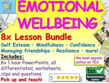 Teacher We Must Teach Emotional >> Emotional Wellbeing Bundle By Ecpublishing Teachers Pay Teachers