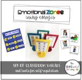 Emotional Zones using Emojis (Zones of Regulation compatible)
