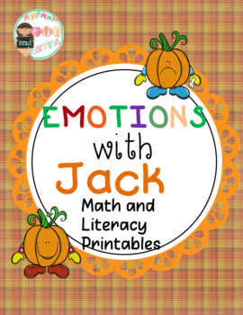 Emotional jack with Math and Literacy Printables