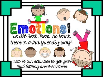 Emotions - Activites for Young Learners