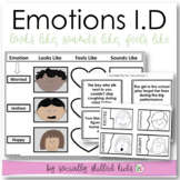 Identifying Emotions {Differentiated Activities For K-5th}