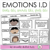 SOCIAL SKILLS ACTIVITIES: Emotions I.D Activities {For k-5
