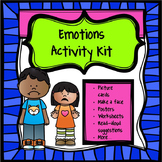 Emotions Activity Kit Distance Learning
