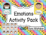 Emotions {5 Hands-on Activities & Games, Posters Included}