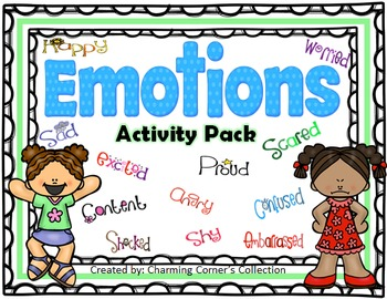 Emotions Activity Pack