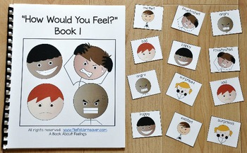 """Emotions Adapted Book:  """"How Would You Feel? 1"""