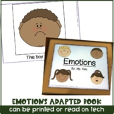 Emotions Adapted Book for Special Education