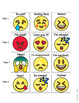 Emotions Adapted Book with Emojis for Autism Special Education and Social Work