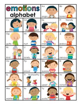 Emotions Alphabet