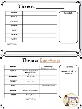 Emotions {An Infant/Toddler Activity Pack}