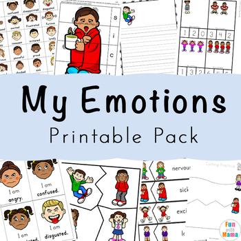 Emotions And Feelings Pack