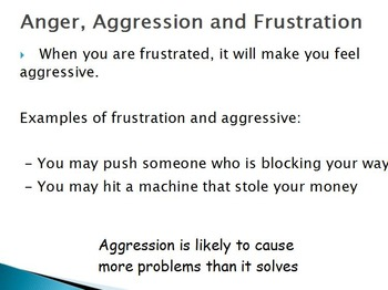 Emotions  - Anger w/worksheet (SMART BOAD)