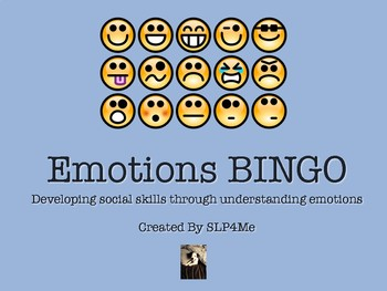 Emotions BINGO: Developing Social Skills through Understan