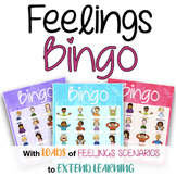Feelings BINGO! With Extended Learning Call Cards