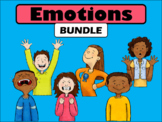 Emotions BUNDLE - ESL Emotions Vocabulary in English