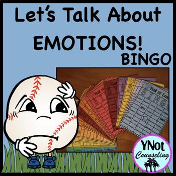 Feelings and Emotions Bingo