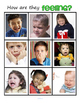 Emotions Bingo Activity using Photos plus Printables Preschool