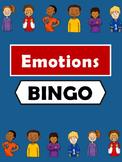 Emotions Bingo -Emotions Vocabulary in English