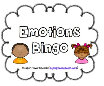 Emotions Bingo (FREE)