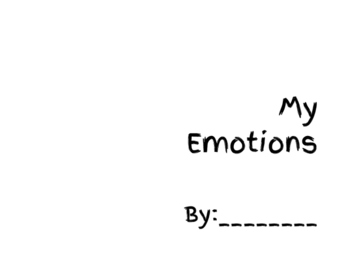 Emotions Booklet - Leveled