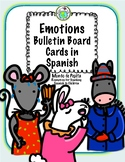 Emotions Bulletin Board Cards Spanish Printable Resources