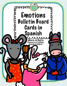 picture regarding Printable Emotions Cards identified as Thoughts Bulletin Board Playing cards Spanish Printable Components