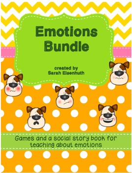Emotions Games and Social Story Bundle