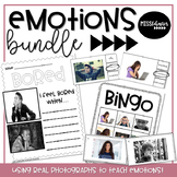 Emotions Bundle: Games, Visuals, Activities with Real Photos