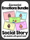 Emotions Bundle- Social Narratives for Student's with Special Needs