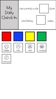 Emotions Bundle and BINGO - Zones of Regulation - GROWING BUNDLE