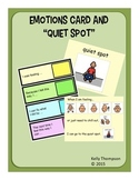 Emotions Cards/Quiet Spot for Students with Autism/Special Needs