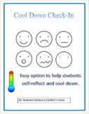 Emotions Chart Combo: Cool Down Check-In
