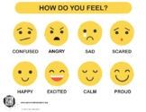 Emotions Chart & Poster for SEL