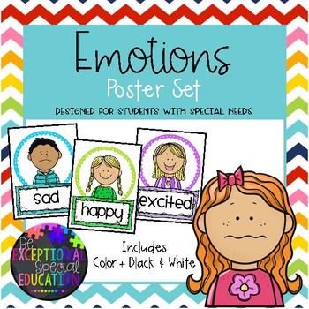 Emotions Poster Set