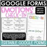 Digital Emotions Check-In Google Forms