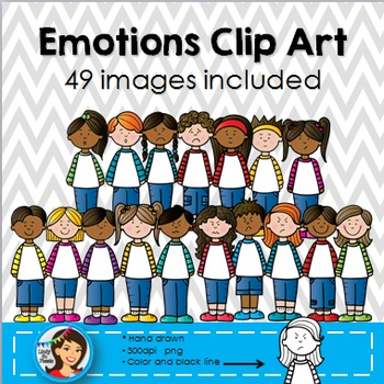Emotions Clip Art Kids