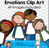 Emotions Kids Clipart