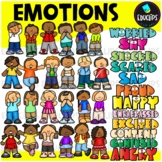Emotions Clip Art Bundle (Educlips Clipart)
