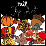 Fall Clip Art: Moveable for Paperless Resources