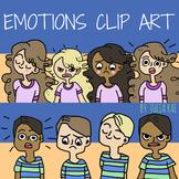 Emotions Clip Art (Digital Clip Art)