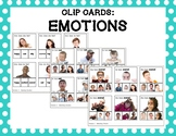 Emotions Clip Cards