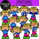 Emotions Clipart Mega Bundle {Creative Clips Clipart}