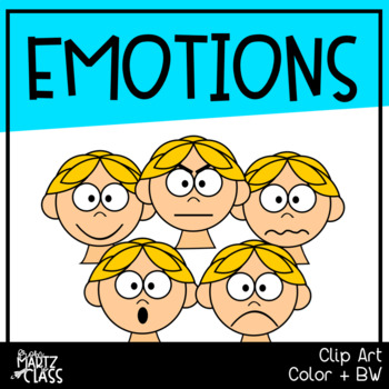 Emotions Clipart (Set One)
